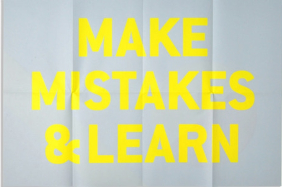 make-mistake-learn